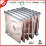 Filter van de Lucht van de Zak van de Zak van de Vezel van Customzied de Synthetische Middelgrote (6-8p)