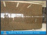 Гранит Lovory цвета золота Silk для вымощать/Countertop верхняя часть /Vanity