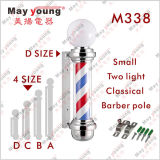 Vendita calda M338 che gira l'indicatore luminoso sottile del barbiere