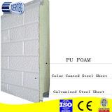 Lederne Pattern Stahl- und Aluminiumfolie PU Sandwich Panel