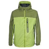 2015 Mens Green Waterproof Jacket 5000mm