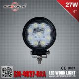 4 duim 27W (9PCS*3W) Round LED Car Work Driving Light met ECE van Ce RoHS (sm-4027-RXA)