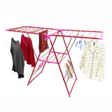 Material de metal portátil Folding Clothes Drying Rack (JP-CR109PS)