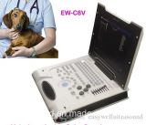 Color portátil Veterinary Ultrasound System Ew-C8V com Micro-Convex Probe C3.5r10 para Small Parte de Animal