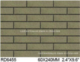 Exterior Wall Brick 60*240mm Rd6455のための粘土Split Tile