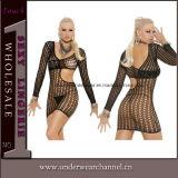 Chemise atractivo de la muñeca de la ropa interior de la muñeca de la ropa interior de la alineada de la noche (22530-3)