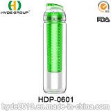 Бутылка воды Infuser плодоовощ высокого качества AAA, подгонянная пластмасса BPA свободно Fruit бутылка вливания (HDP-0601)