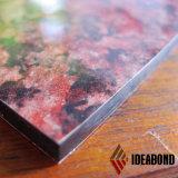 El panel compuesto de aluminio de piedra para al aire libre