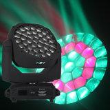 iluminación de la etapa del ojo LED de la abeja de 37X15W RGBW