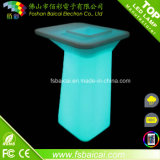 Hoge LED Bar Table voor Drinking