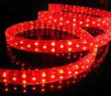 Luz azul da corda redonda do diodo emissor de luz do fio da cor 2, luz de tira