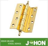"""Bisagra de puerta de doblez del acero o del hierro del hardware de los muebles (4 """" X3 """")"""