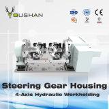 Engrenagem de direção Workholding hidráulico de abrigo com centro fazendo à máquina de Ugint