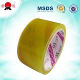 Amarillento alta Temperatura de BOPP cinta adhesiva de embalaje