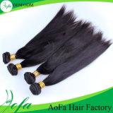 Дешево и выдвижение человеческих волос девственницы высокого качества шелковистое прямое