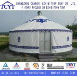 Grosse Freizeit kampierendes touristisches Aluminiummongolisches Yurt Bambuszelt