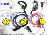 Walkie-talkie Earphone Headset per il Due-modo Radio