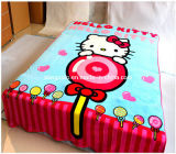 Soft eccellente Coral Fleece Blanket con Custom Design