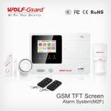 Sistema de alarma elegante del coche de la seguridad casera del G/M del sistema sin hilos del &Alarm con la visualización y la voz Yl-007m2f del LCD