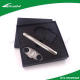 Conjunto del rectángulo de regalo de la herramienta del cigarro del acero inoxidable del regalo de la promoción