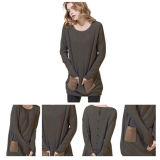 Fashiong ha lavorato a maglia il maglione Ew16A-001o del cachemire