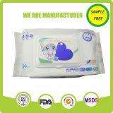 Tejido mojado del bebé de la comodidad de la limpieza del cuidado de piel del nuevo producto 80PCS