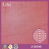 Lita J130340 Noir Petit circulaire Conception Spandex Mesh Tissu