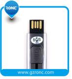 Entraînement fait sur commande de crayon lecteur de mémoire de flash USB de logo de capacité totale