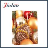 Bolsa de papel de encargo del regalo de Chacolate del diseño del día de fiesta de la Feliz Navidad del muñeco de nieve