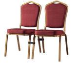 Banquet empilable en aluminium et chaise de salle à manger de Restaruant