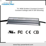75 ~ 96W exterior constante del conductor de tensión / corriente constante LED
