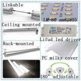 Водоустойчивый свет Tri-Доказательства СИД алюминия SMD2835 линейный с водителем Lifud