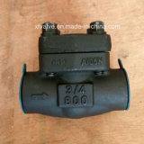 API602は鋼鉄A105糸端NPTの振動小切手弁を造った