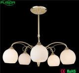 高品質のモザイク・ガラスのシャンデリアの卵型の吊り下げ式の照明