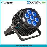 屋外のための小型カボチャ7*15W RGBW LED同価の段階ライト