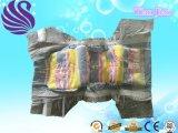 布は柔らかい通気性の使い捨て可能な赤ん坊のおむつの製造業者を好む
