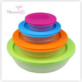 3pack Microwave Lunch Box, Plastic Storage Microwave Food Container (놓으십시오) (230ml 590ml 1.25L)