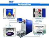 machine d'inscription de laser de fibre de 10W 20W 30W pour le métal/plastique
