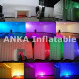 Tienda inflable Party la iluminación de la decoración de la bóveda con luces LED