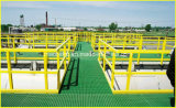 Pultruded GRP/FRP Handrail met Met hoge weerstand