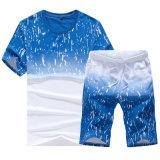 I vestiti di modo di stile cinese impostano una maglietta di due toni per gli uomini