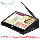 """10 """" POS van de Tablet van het Scherm van de Aanraking Systeem voor Restaurant"""