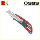 La aleación de aluminio Encaja a presión-apagado el cuchillo utilitario, cuchillo del cortador de la seguridad de 18m m