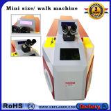 Ouro 60With100W portátil/máquina de soldadura de prata do ponto do laser