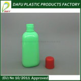 бутылка зеленого цвета 120ml жидкостная пластичная