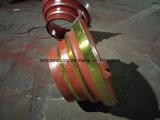 Manto del pezzo fuso d'acciaio del manganese di prezzi di fabbrica alti e concavo