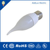 Dimmable 3W B22 Pure White/Daylight LED Candle Light