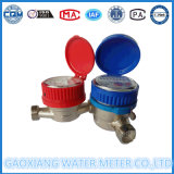 Einzelnes Düsentrockner-zeigerartiges mechanisches kaltes/Heißwasser-Messingmeßinstrument