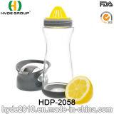 BPA freschi liberano l'alta bottiglia di Infuser della frutta di vetro di Borosilicate, la bottiglia di acqua di vetro popolare (HDP-2058)