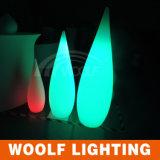 Lampe rechargeable de baisse de l'eau de la radio DEL